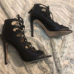 Zara leather bootie